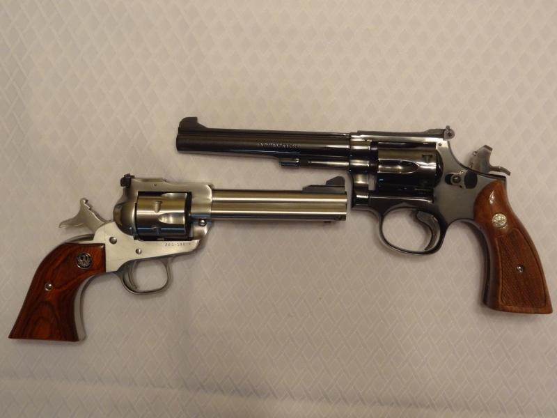 """Side by Side: S&W """"Model 17"""" vs Ruger """"New Model Single Six"""" 22lr_510"""