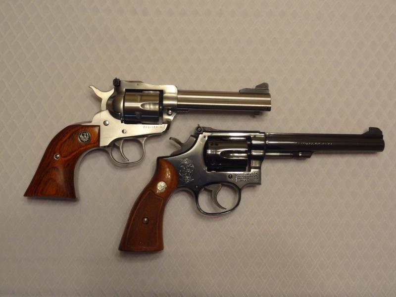"""Side by Side: S&W """"Model 17"""" vs Ruger """"New Model Single Six"""" 22lr_710"""