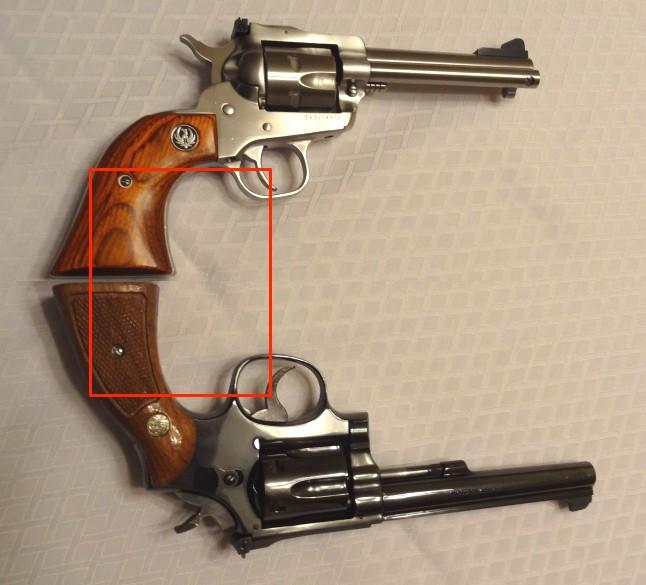 """Side by Side: S&W """"Model 17"""" vs Ruger """"New Model Single Six"""" 22lrtr10"""