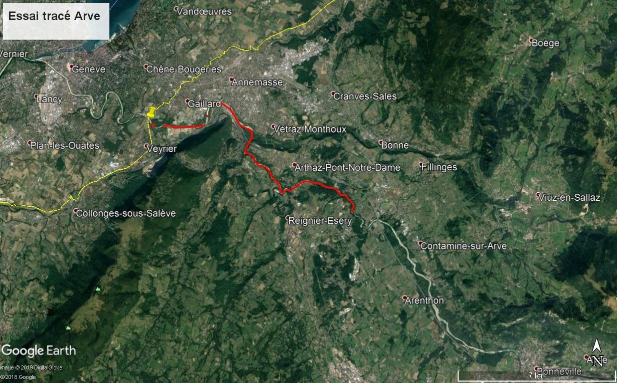 [résolu]Tracer un itinéraire, le sauver en KMZ [problème technique Google Earth] - Page 2 Arve_e11