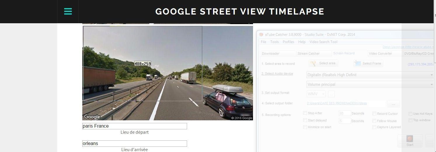 Google Street View Hyperlapse (Tuto) Captur17