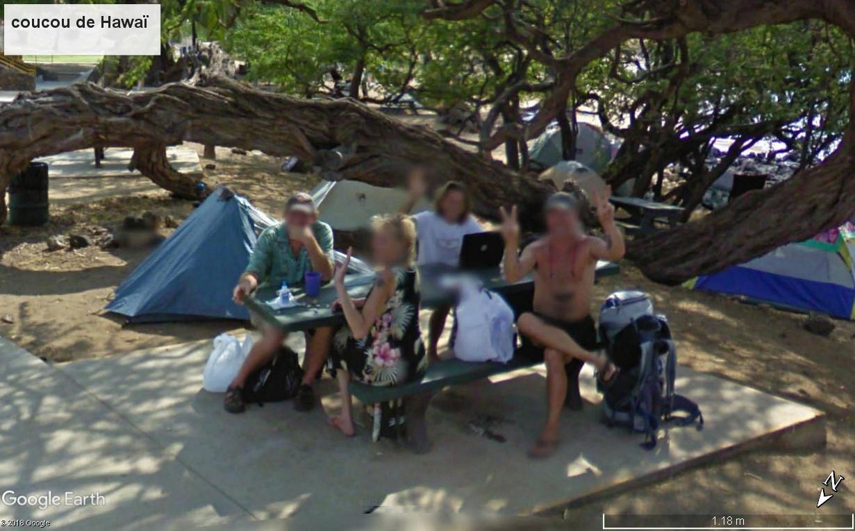 STREET VIEW : un coucou à la Google car  - Page 47 Hawai10