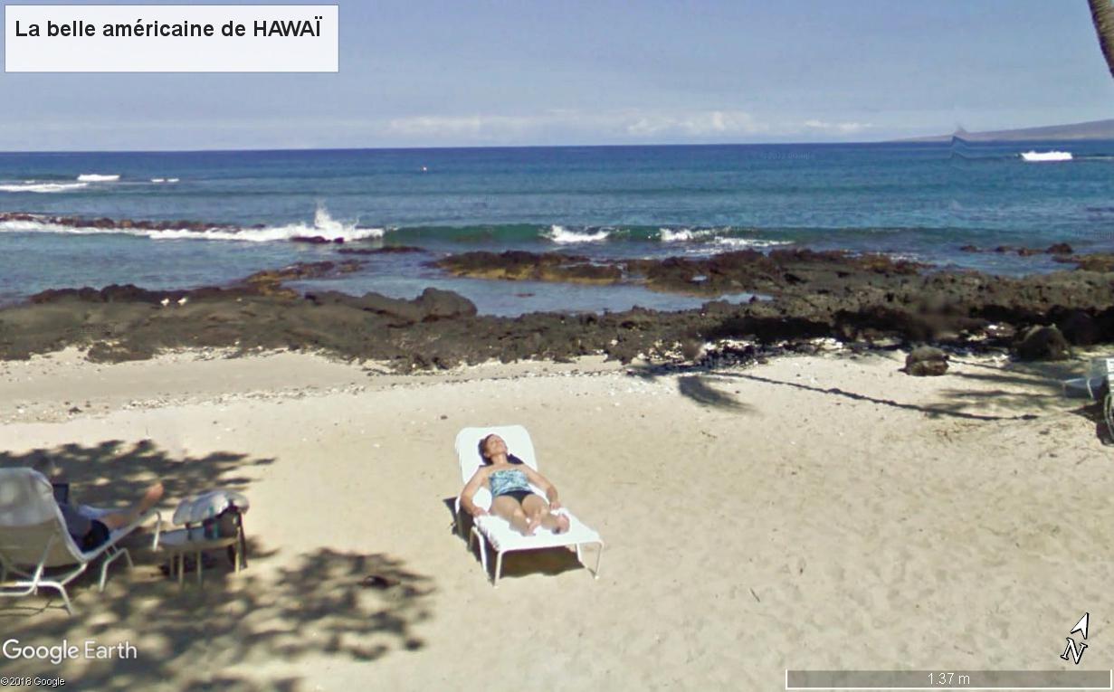 STREET VIEW : Les GENS non floutés  Hawai_10