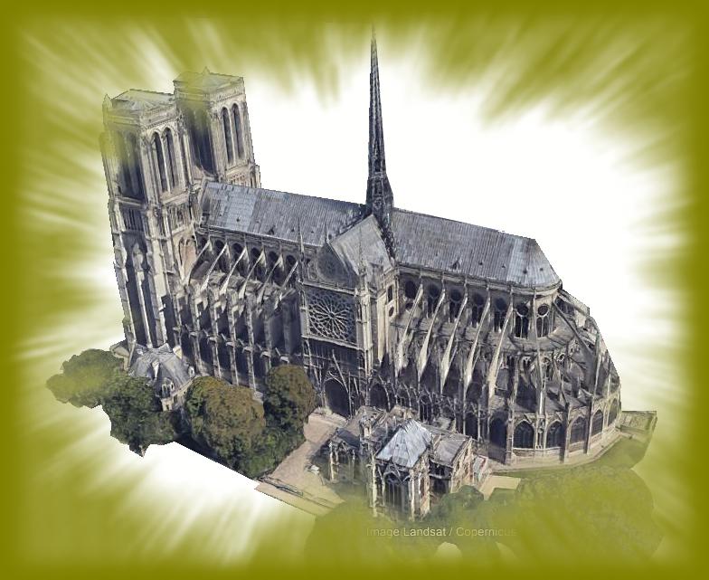 """Incendie majeur à la cathédrale Notre-Dame de Paris: toute la charpente """"est en train de brûler""""  Nd_png11"""
