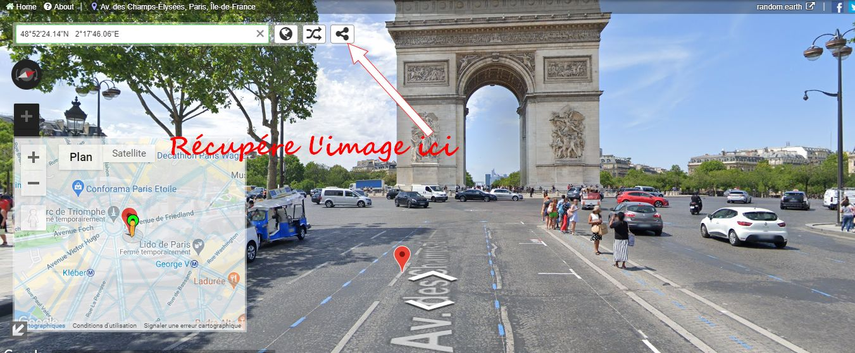 Capture d'écran, enregistrement d'image Paris_12