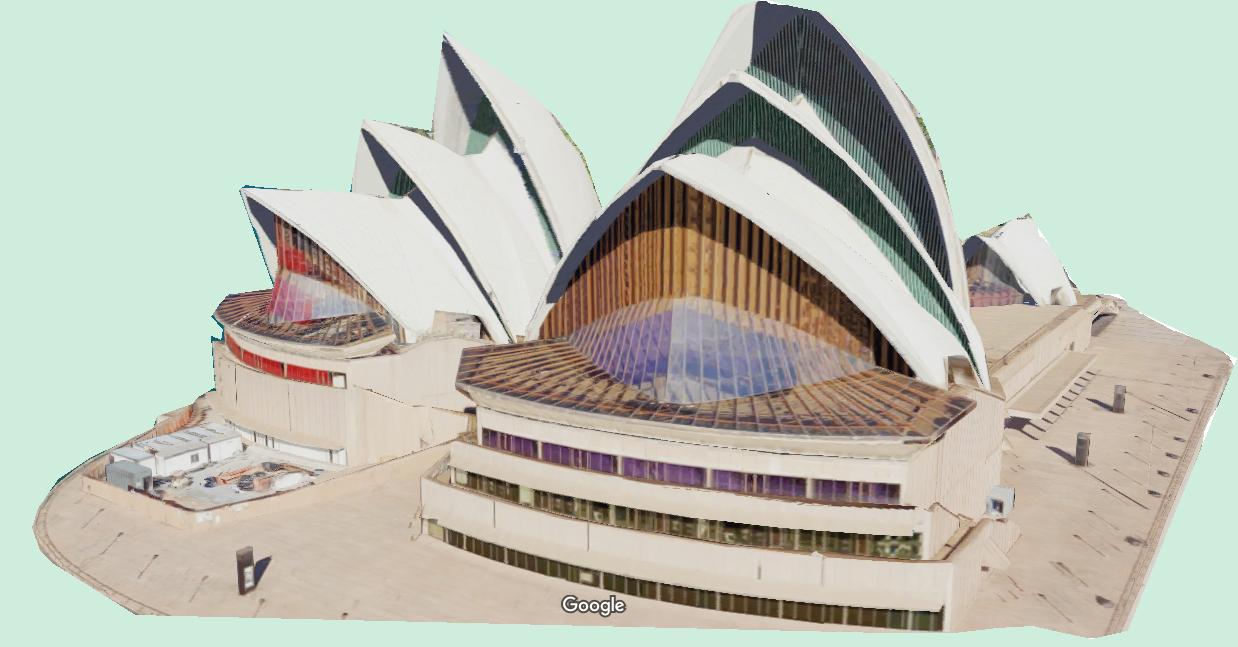 Sydney AUSTRALIE en 3 D Syd10