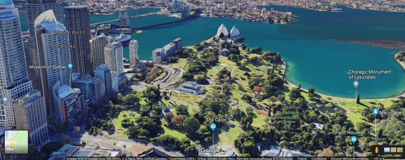 Sydney AUSTRALIE en 3 D Syd210