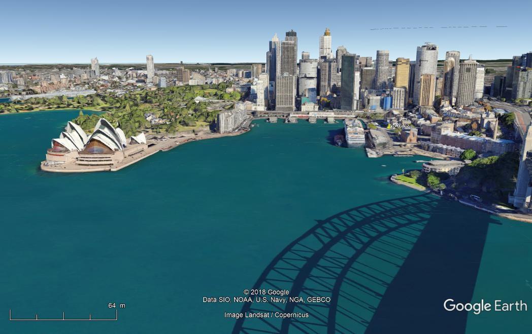 Sydney AUSTRALIE en 3 D Sydney10
