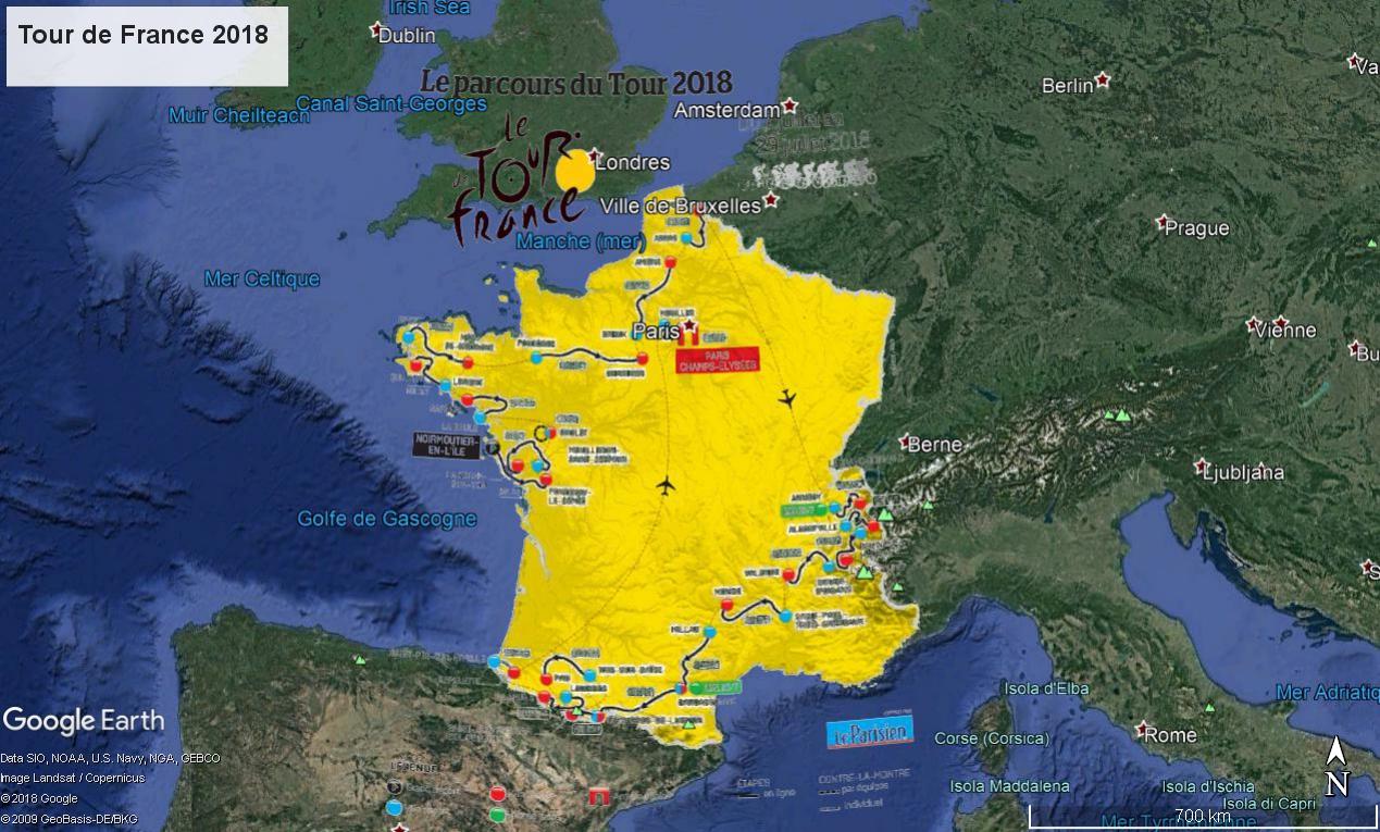 Tour de France 2018 : Fichier KMZ Tdf_ts10