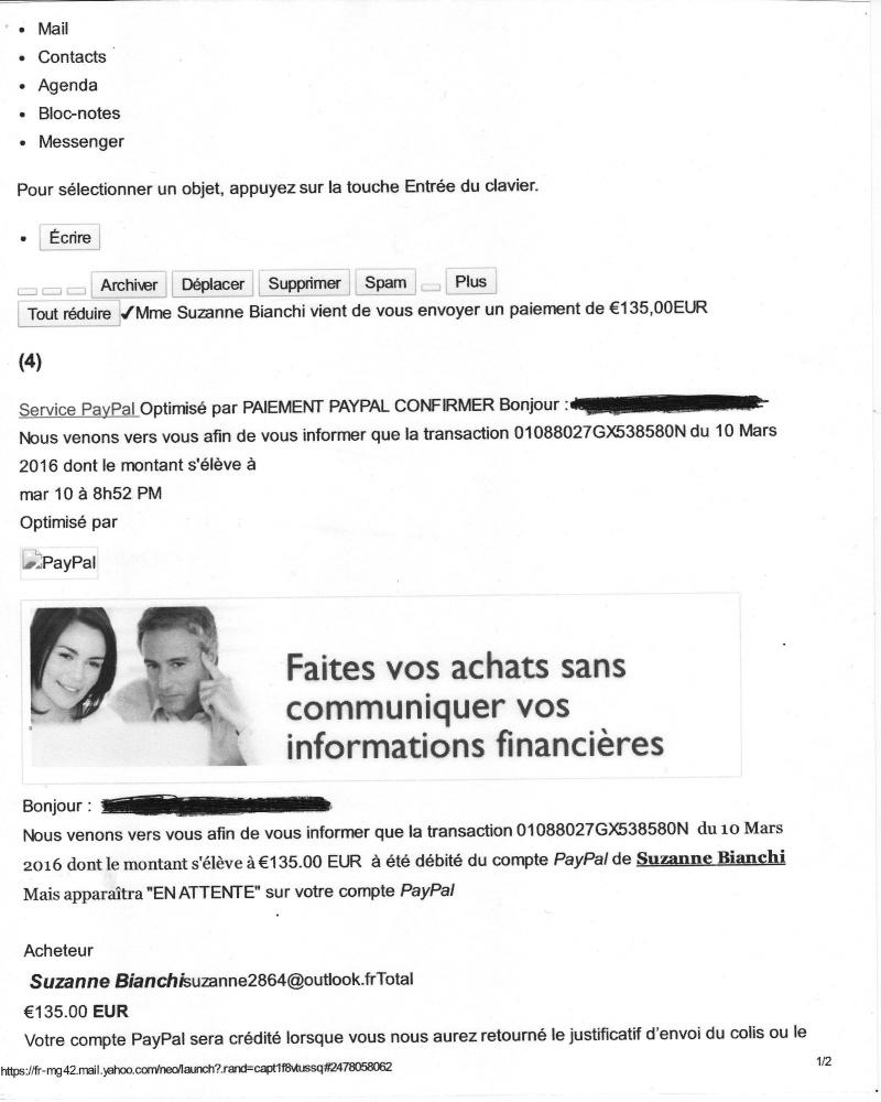 Fraude aux collectionneurs Mail110