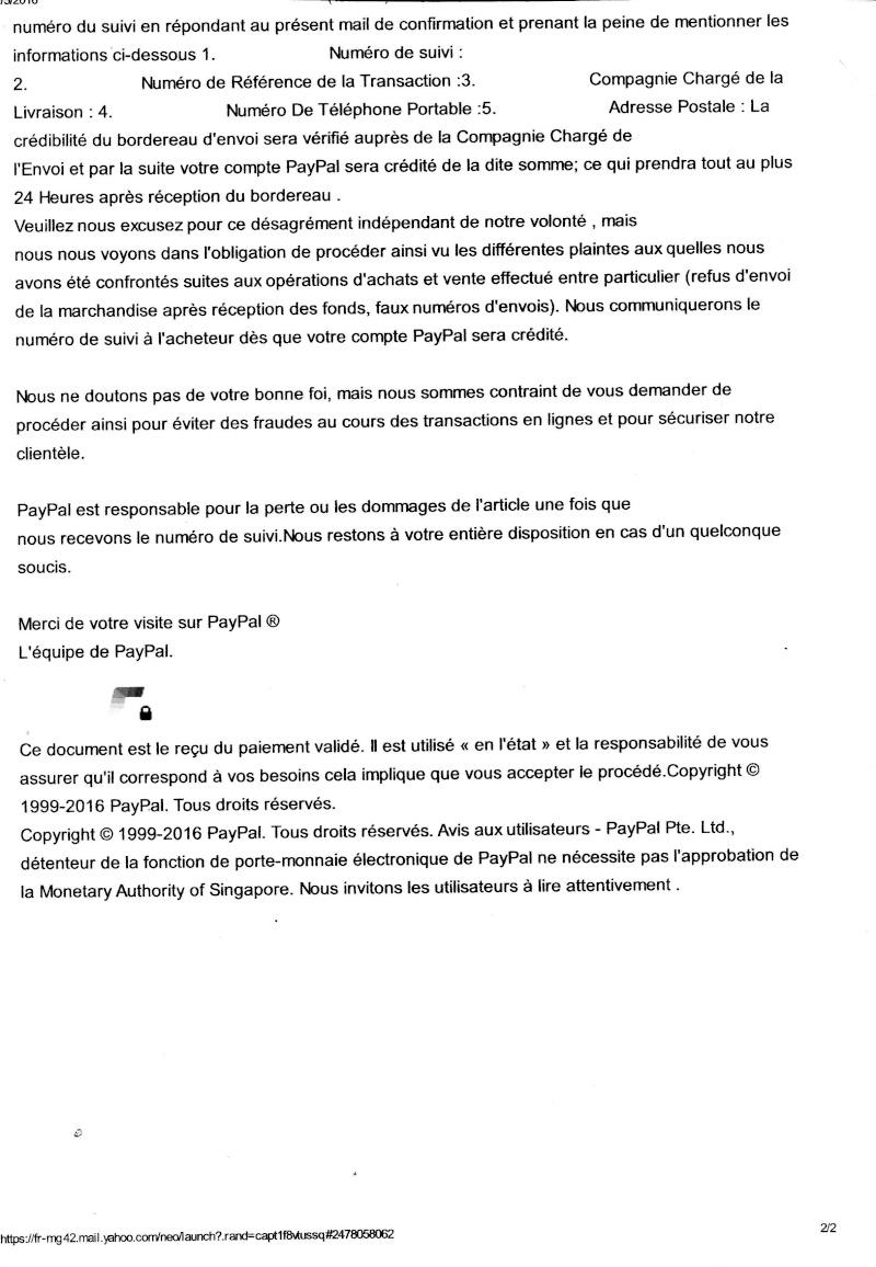 Fraude aux collectionneurs Mail210