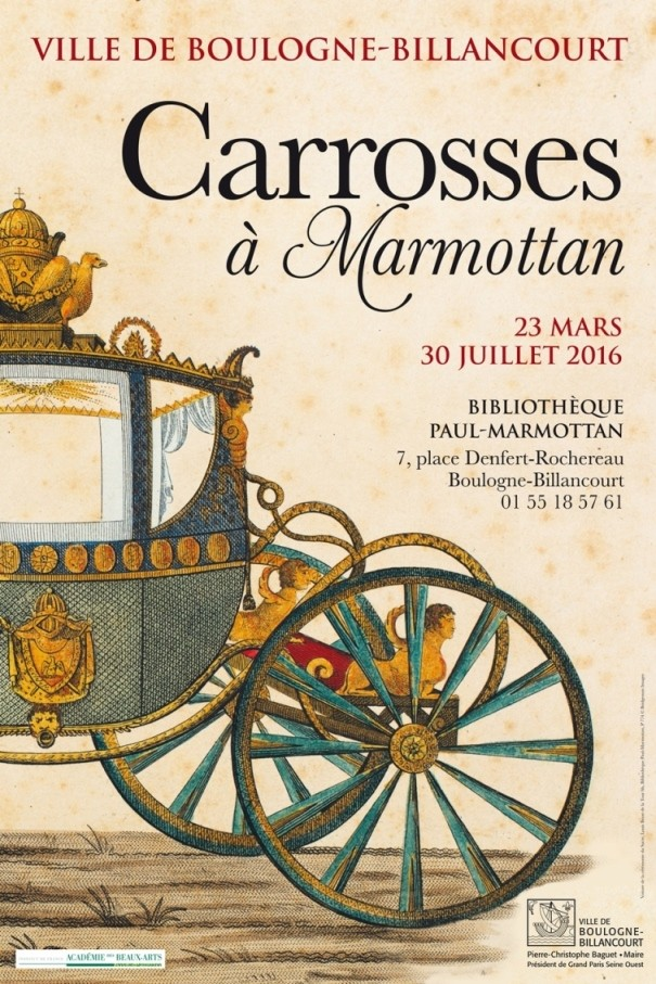 Exposition Carrosses à Marmottan (Boulogne-Billancourt) Affich10