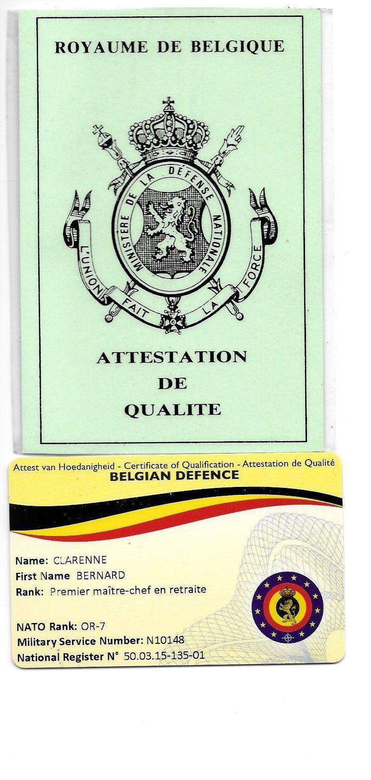Attestation de qualité de carrière dans l'armée. - Page 2 Numyri10