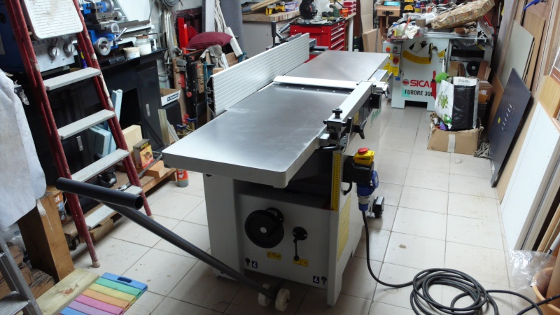 Nouvelle arrivée dans le garatelier - HolzProfi 410 Image18