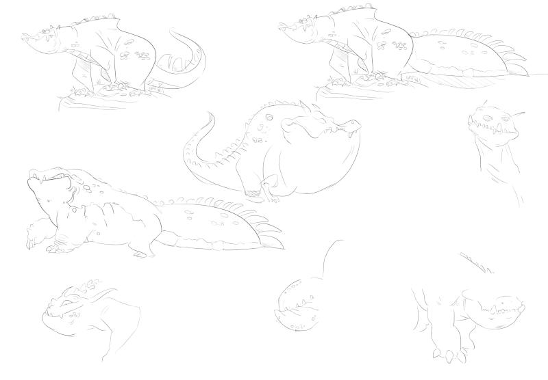 Auto-Masturbation illustrative  - Page 3 Crocod10