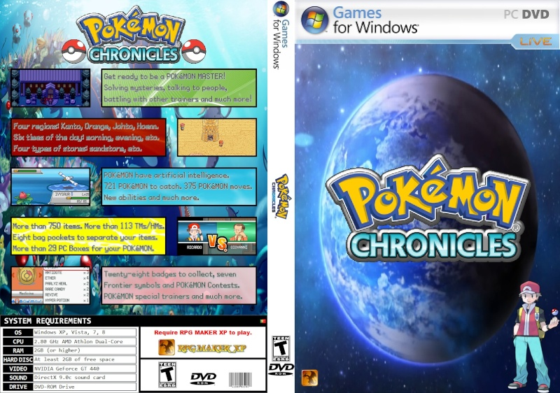 Pokémon Chronicles Demo - Version 16.3 Pokymo10