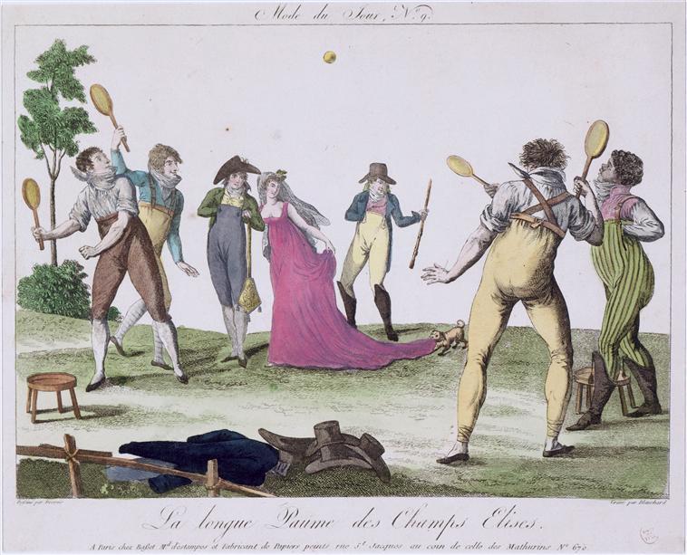 Salles de jeu de paume au XVIIIè siècle 01-02210