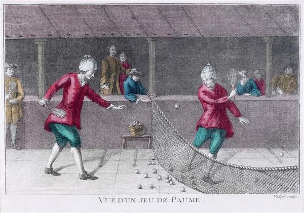 Salles de jeu de paume au XVIIIè siècle 01-02211