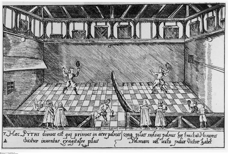 Salles de jeu de paume au XVIIIè siècle 10-50510