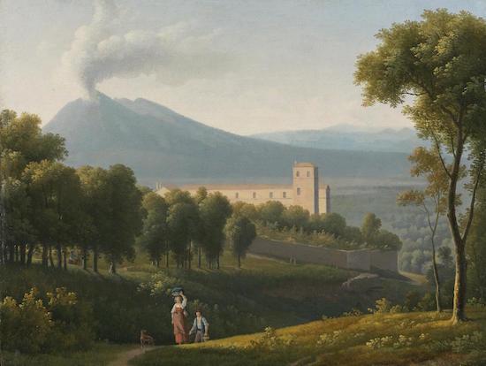Le Vésuve, décrit par les contemporains du XVIIIe siècle 1994n010