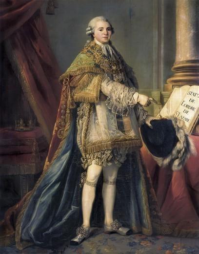 Louis-Stanislas, comte de Provence, et futur roi Louis XVIII - Page 2 4435-110