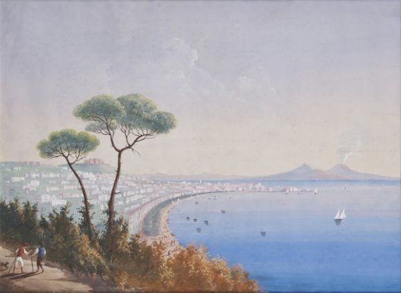 Le Vésuve, décrit par les contemporains du XVIIIe siècle 64420110