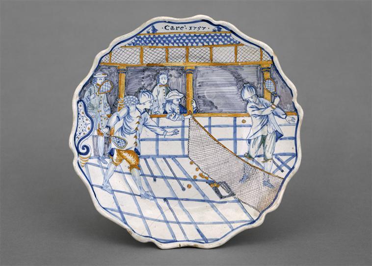 Salles de jeu de paume au XVIIIè siècle 88-00310