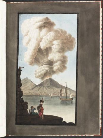 Le Vésuve, décrit par les contemporains du XVIIIe siècle Captur15