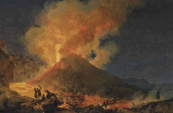 Le Vésuve, décrit par les contemporains du XVIIIe siècle Captur18