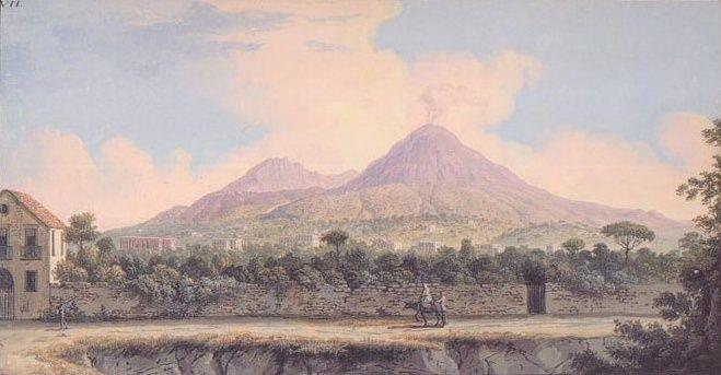 Le Vésuve, décrit par les contemporains du XVIIIe siècle Captur19