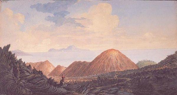 Le Vésuve, décrit par les contemporains du XVIIIe siècle Captur25