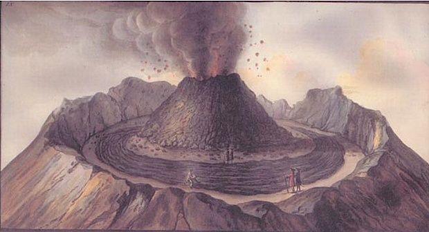 Le Vésuve, décrit par les contemporains du XVIIIe siècle Captur27