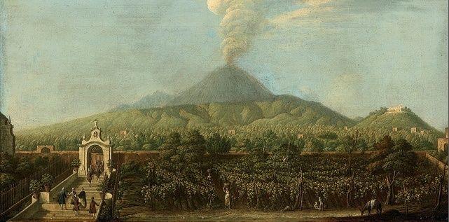 Le Vésuve, décrit par les contemporains du XVIIIe siècle Captur29