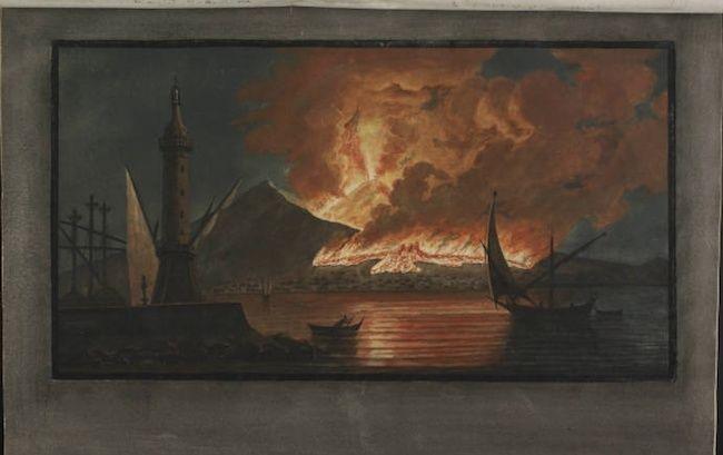 Le Vésuve, décrit par les contemporains du XVIIIe siècle Captur32