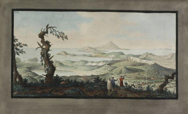 Le Vésuve, décrit par les contemporains du XVIIIe siècle Captur34