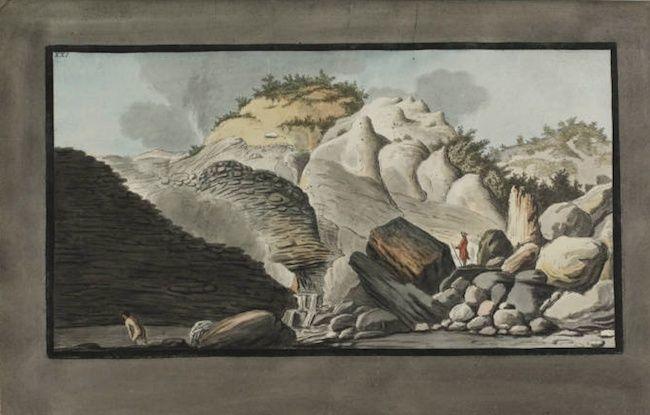 Le Vésuve, décrit par les contemporains du XVIIIe siècle Captur35