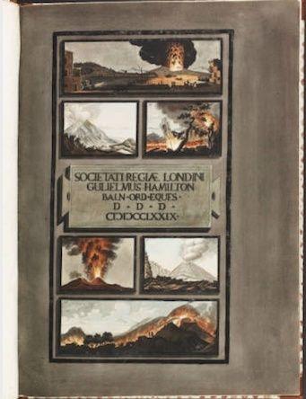 Le Vésuve, décrit par les contemporains du XVIIIe siècle Captur39