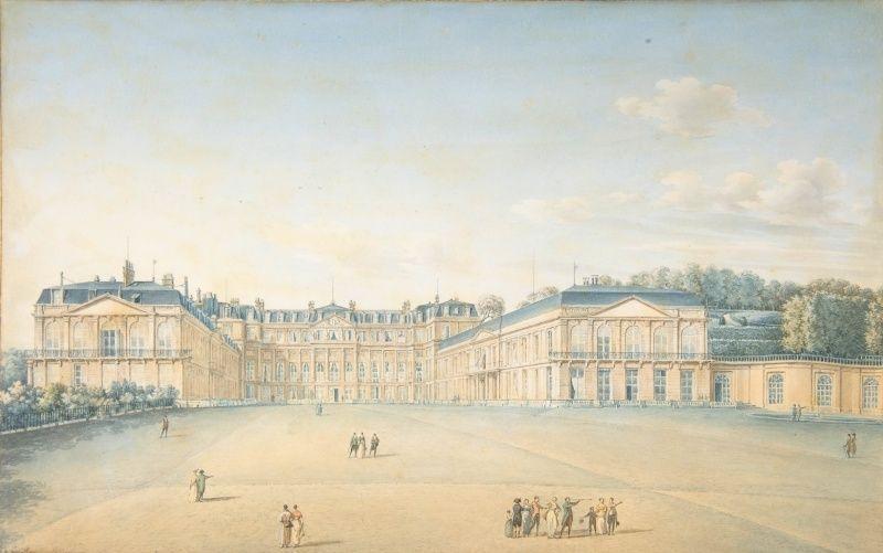 Le château de Saint-Cloud - Page 2 Courty10