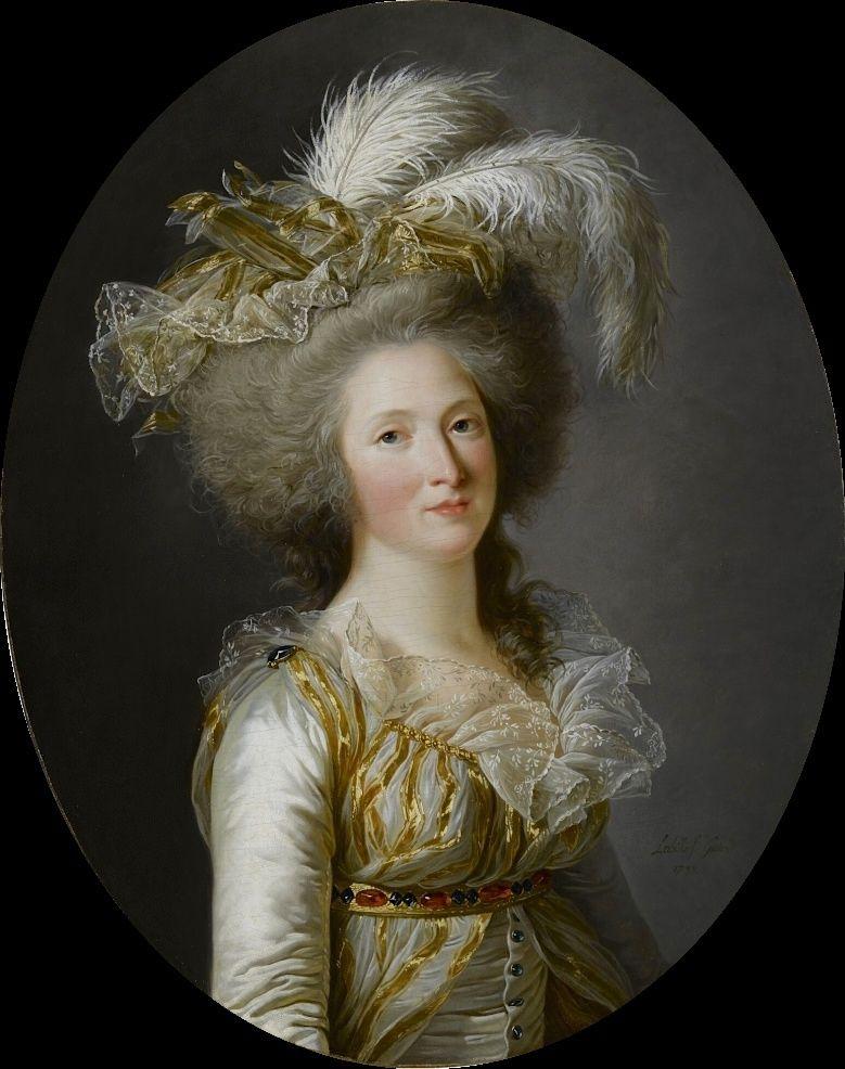 Adélaïde Labille-Guiard, peintre de Mesdames Elisab15