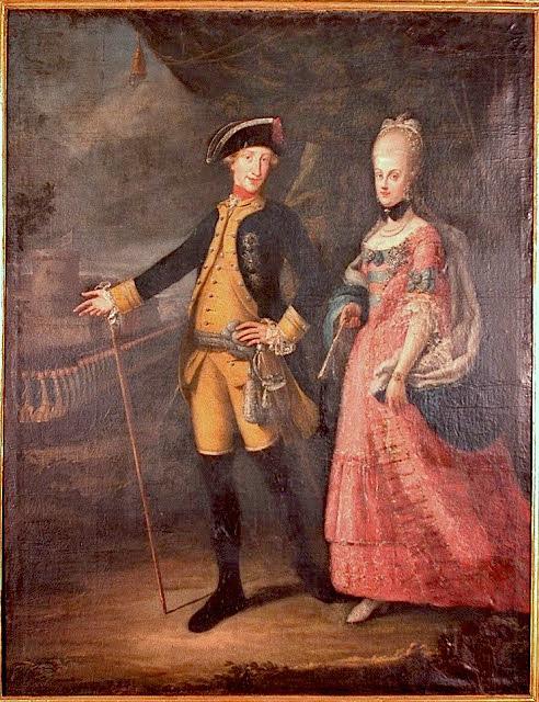 Un beau-frère de Marie-Antoinette :   Ferdinand IV , roi de Sicile Ferdin10
