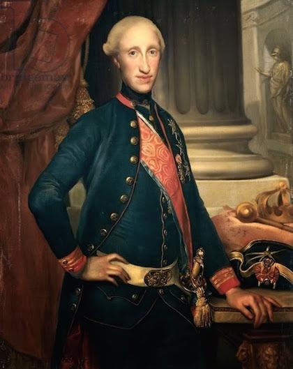 Un beau-frère de Marie-Antoinette :   Ferdinand IV , roi de Sicile Ferdin11