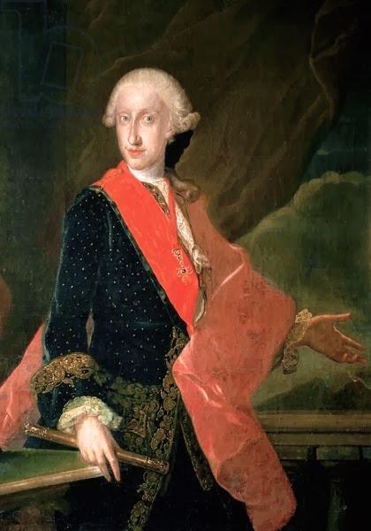 Un beau-frère de Marie-Antoinette :   Ferdinand IV , roi de Sicile Ferdin12