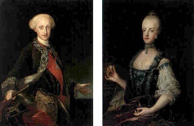 Portraits de Marie Caroline d'Autriche, reine de Naples et de Sicile France10
