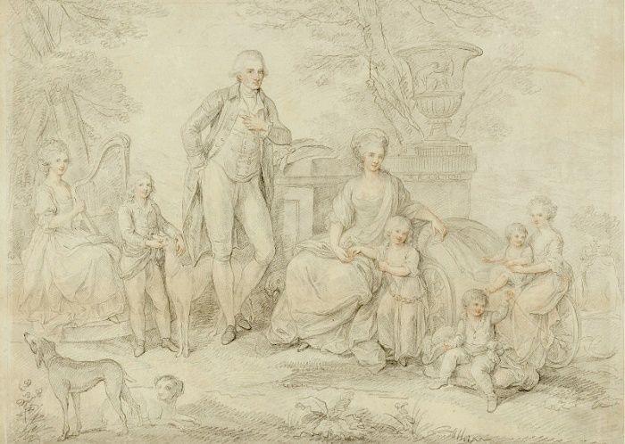 Un beau-frère de Marie-Antoinette :   Ferdinand IV , roi de Sicile France11