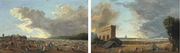 Hubert Robert et le XVIIIe siècle Hubert13