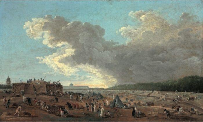 Hubert Robert et le XVIIIe siècle Hubert16