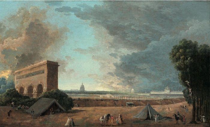 Hubert Robert et le XVIIIe siècle Hubert17