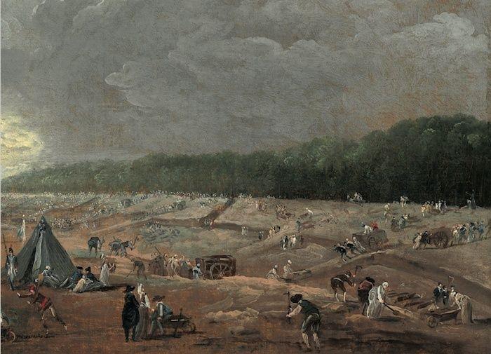 Hubert Robert et le XVIIIe siècle Hubert18