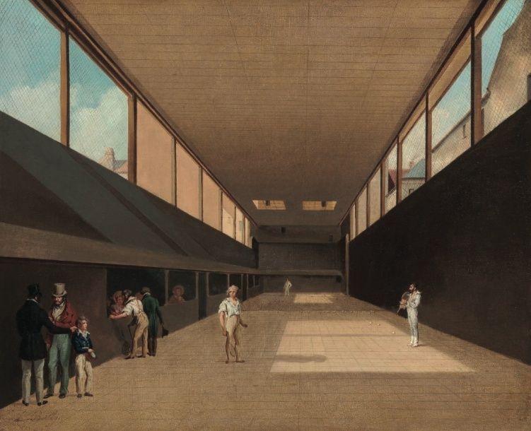 Salles de jeu de paume au XVIIIè siècle Jeu_de10