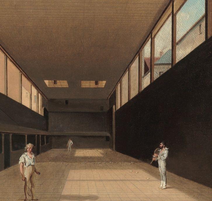 Salles de jeu de paume au XVIIIè siècle Jeu_de12